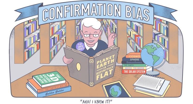 Illustration for article titled 10 sesgos cognitivos que manipulan tu opinión sin que te des cuenta (y cómo evitarlos)