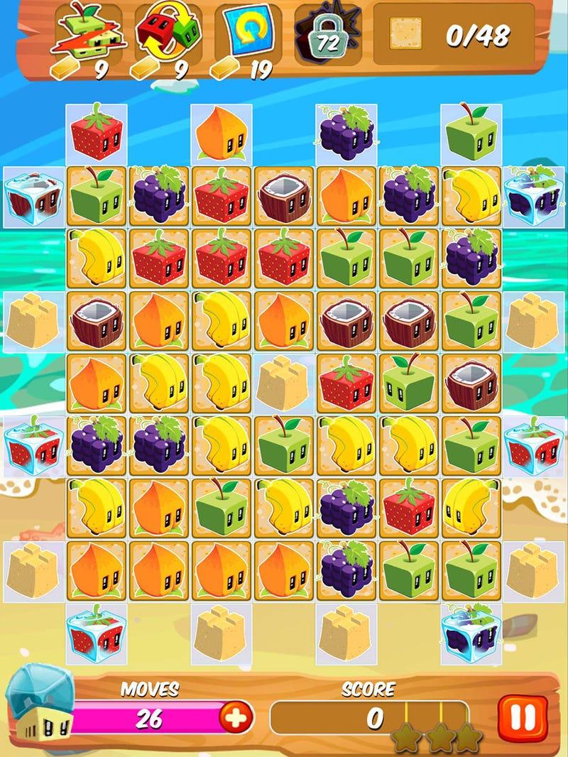 Fruit pop crush game - Fruit Pop Crush Game