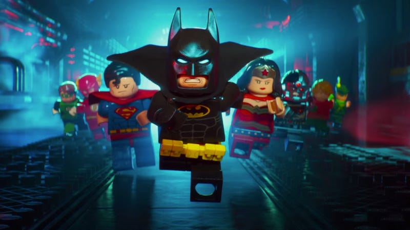 The Lego Batman Movie tops North American box office