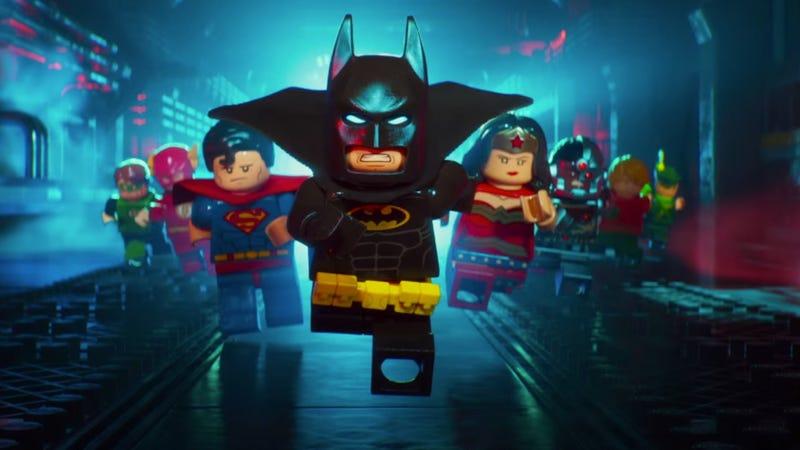 A 7-year old loves LEGO Batman