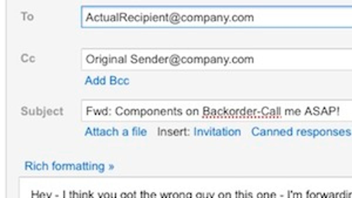 How to handle emails you receive that are intended for someone else thecheapjerseys Gallery