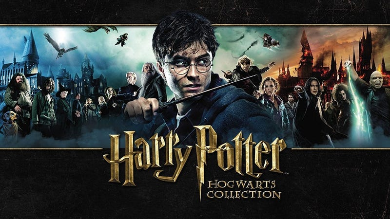 Harry Potter; The Complete 8-Film Blu-ray, $35 | Harry Potter Hogwarts Collection, $88