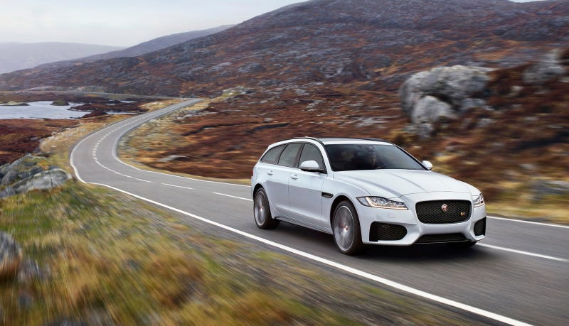 The 2018 Jaguar XF Sportbrake Is Bringing Its Gorgeous Looks To