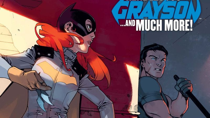 Illustration for article titled Exclusive DC preview: Batgirl Annual #3 brings Grayson back into Barbara's life
