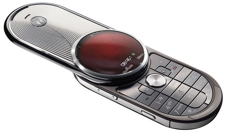 Illustration for article titled Motorola Aura: The Phone that Thinks It's a Watch
