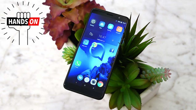 Alcatel s Refreshed 1X Is Going Big For a $120 Phone