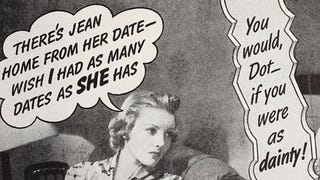 Illustration for article titled 'Forever Alone': How Midcentury Movie Magazines Sold Marriage to Women