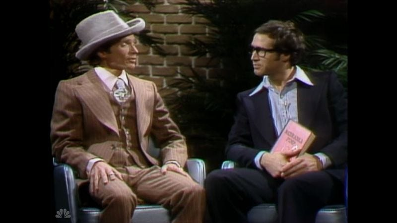 """Illustration for article titled Saturday Night Live (Classic): """"Dick Cavett/Jimmy Cliff"""""""