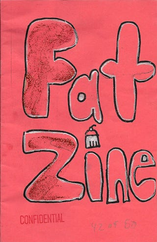 Illustration for article titled Fat Zine Is A Skinny Slice Of Goodness