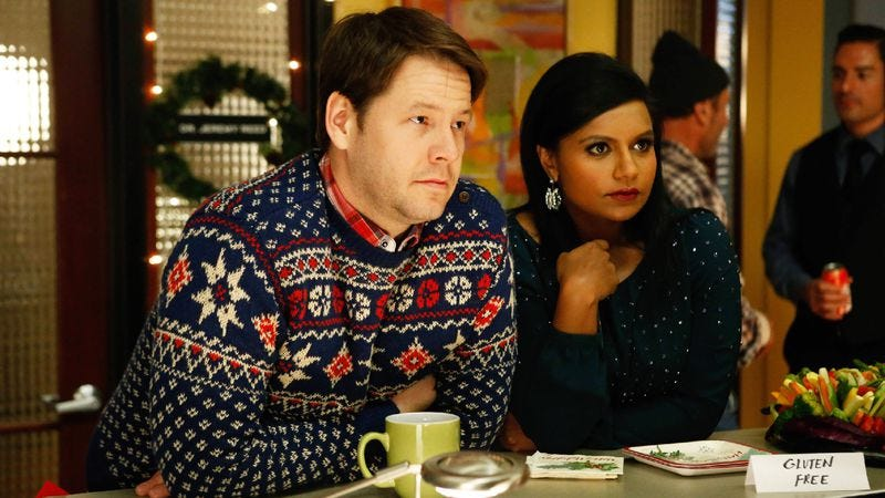 Illustration for article titled Will The Mindy Project's second Christmas be its last?