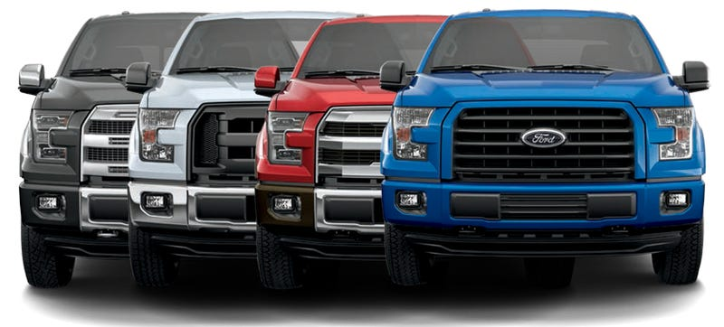 Illustration for article titled This Guide Will Help You Decode All The 2015 Ford F-150 Style Options
