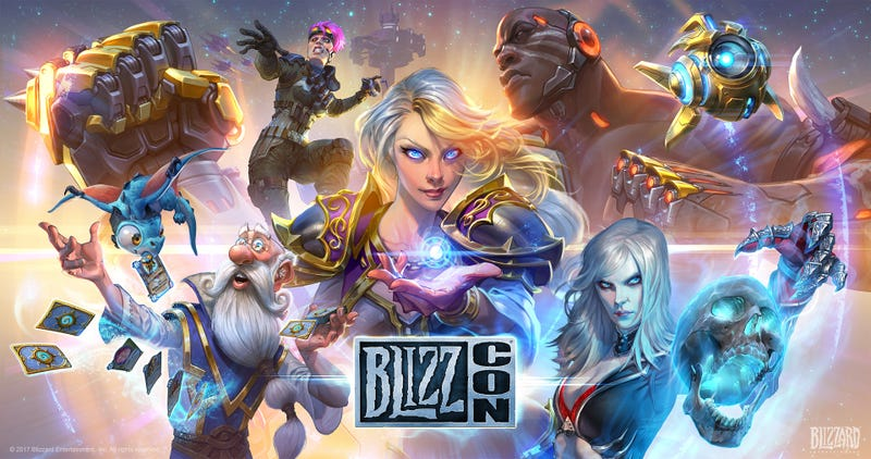 Illustration for article titled BlizzCon's Posters Were Great