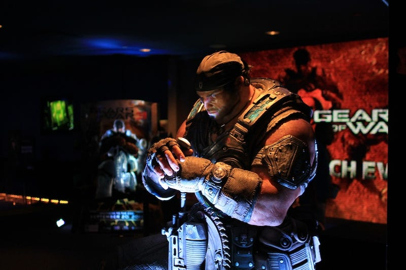 Illustration for article titled New York City's  Gears of War 3 Launch Party in Six Pictures