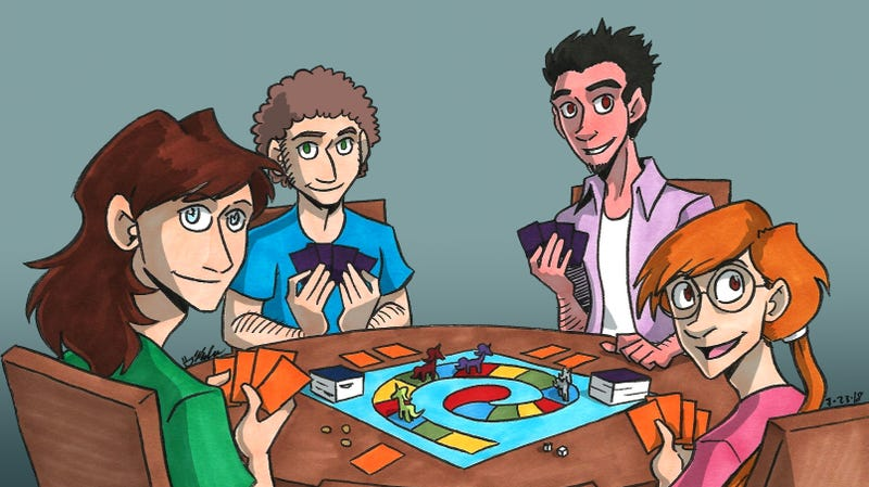 Ally and her friends from webcomic Validation, which has run since 2013. Illustration by artist Kelci Crawford.