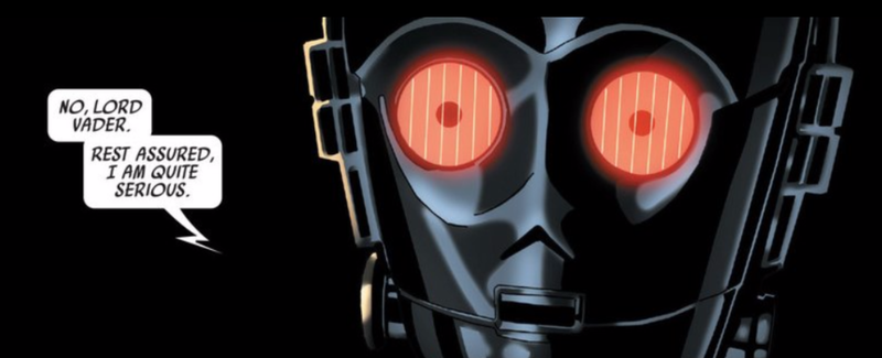 Illustration for article titled Evil C-3PO Is The Best