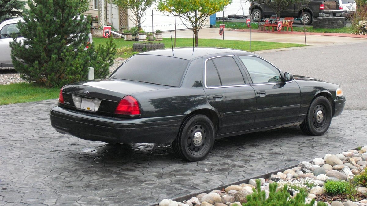 Could It Be Illegal To Drive An Ex-Cop Car?