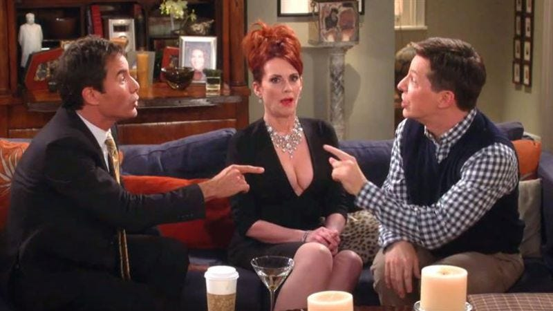 Illustration for article titled NBC is in talks to bring back Will & Grace