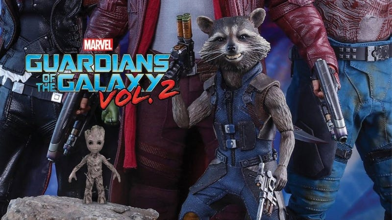 Illustration for article titled Hot Toys Teases New Guardians 2 Figures...and I Already Lost Baby Groot