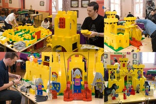 Illustration for article titled Huge LEGO Yellow Castle Version Looks Bigger than Most Apartments