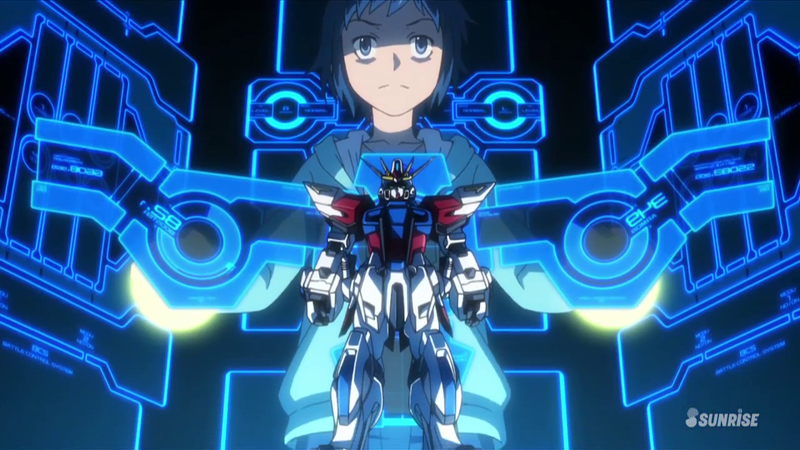 Illustration for article titled Ani-TAY - Gundam Build Fighters Episode 1 Impression