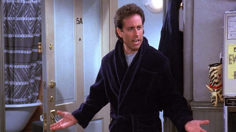 15 Episodes Of 'Seinfeld' When Jerry Dated A Woman With Man Hands