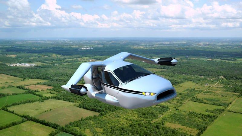 Illustration for article titled Terrafugia TF-X ¿Es este el coche volador definitivo?