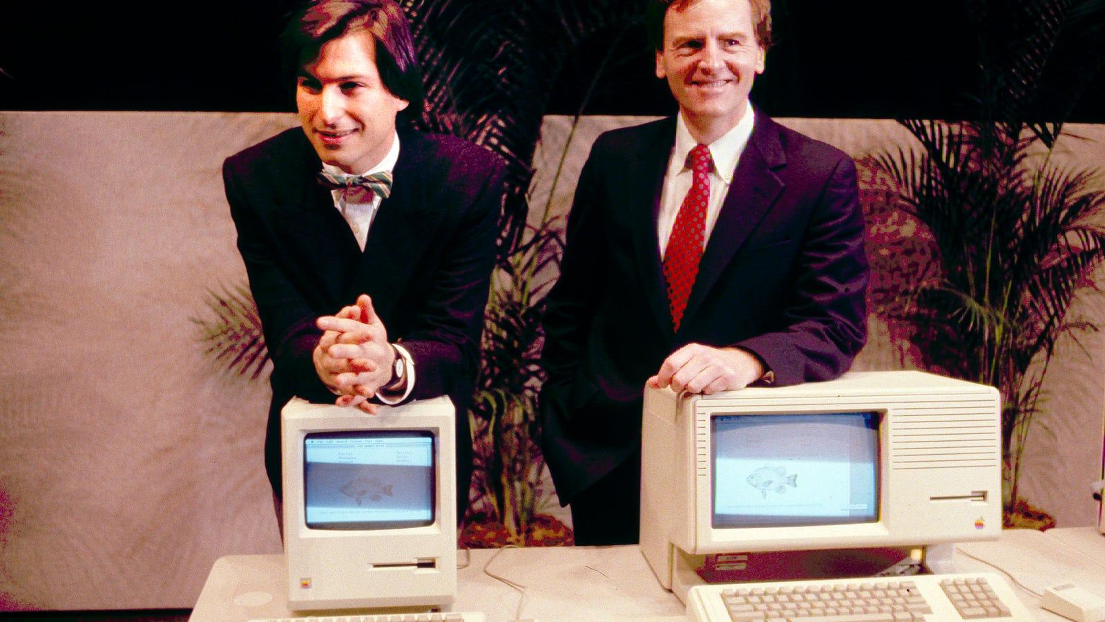 Así fue la presentación del primer Macintosh hace hoy 30 años