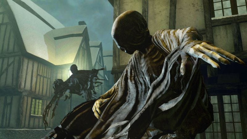 Dementor from the Harry Potter And The Deathly Hallows video game