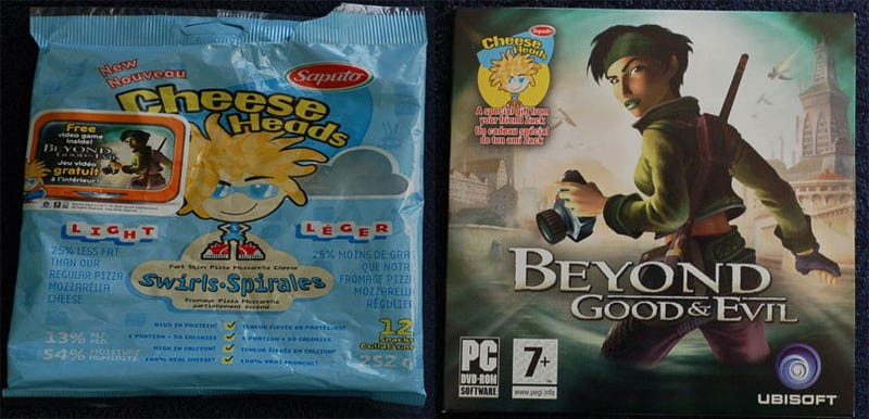 Illustration for article titled Want Beyond Good & Evil For Free? Buy Some Cheese