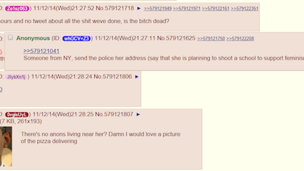 The Cops Don't Care About Violent Online Threats  What Do We
