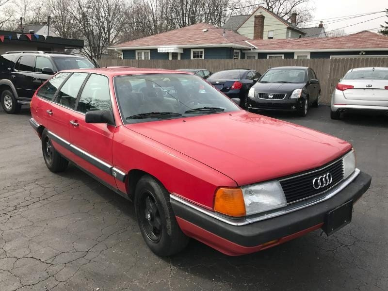 Illustration for article titled For $1,200, Could This 1988 Audi 5000S Make You Avant-Garde?