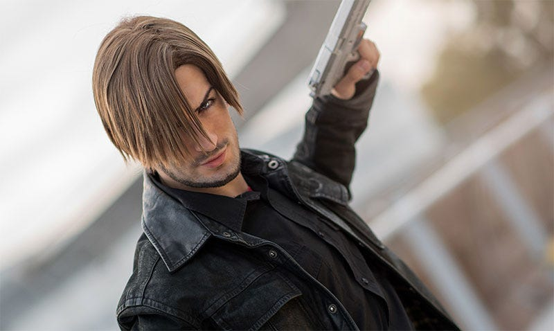 Illustration for article titled Leon Kennedy, At Your Service