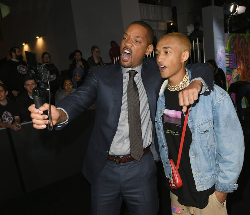 Will and son Jaden Smith