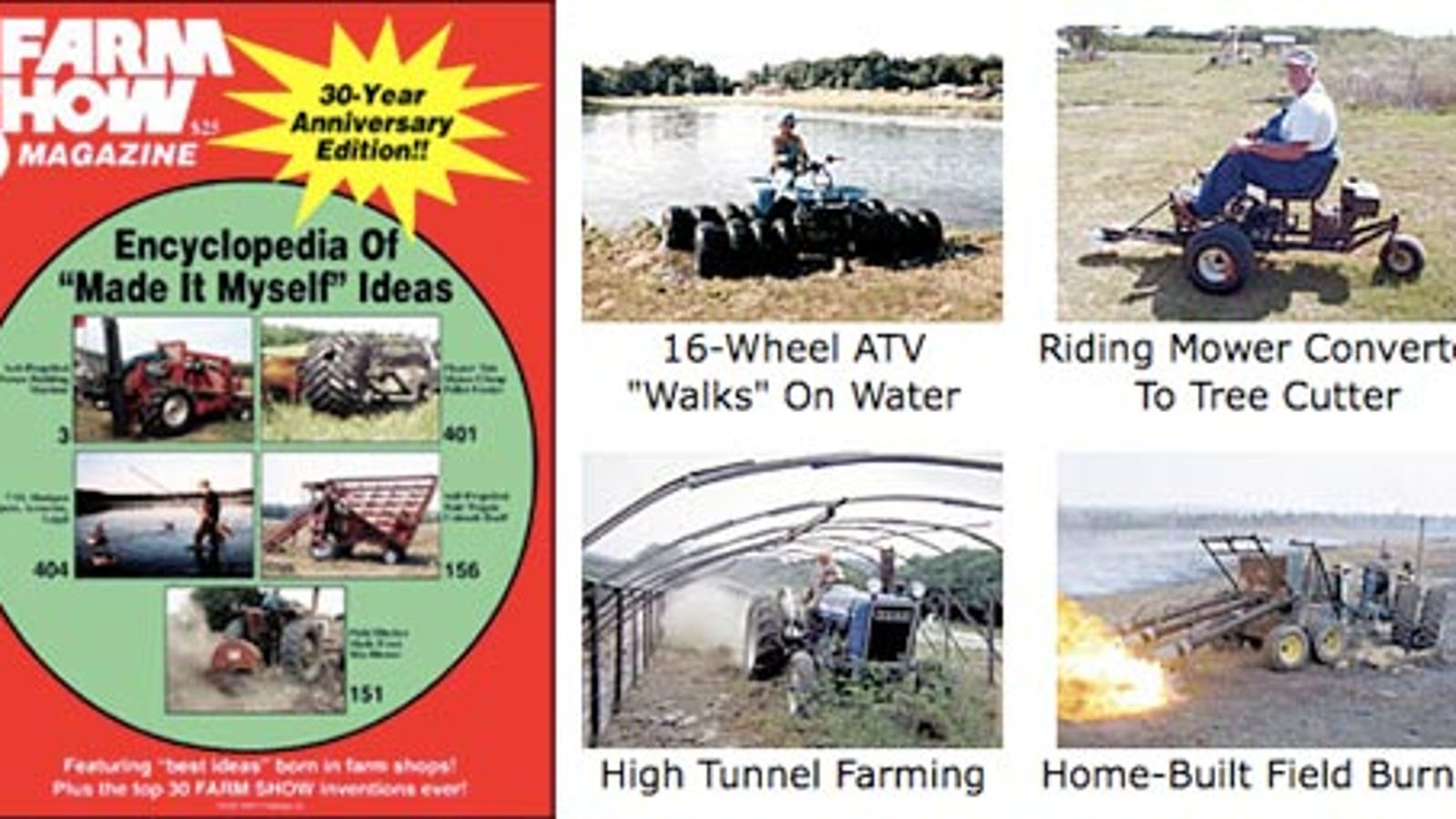 Farm Show Magazine Encyclopedia Chock Full of DIY Inspiration