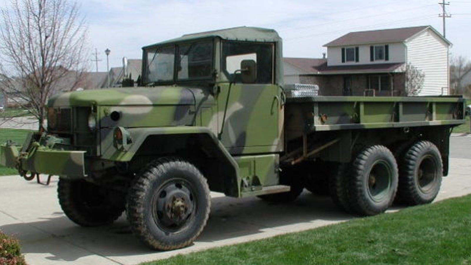 Your Truck Doesn't Compare To This M35A2 'Deuce And A Half'