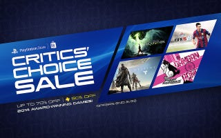 Illustration for article titled Sony's Critics' Choice Game Sale is Live