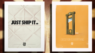 Illustration for article titled These Inspirational Posters Keep You Motivated with Wall Art