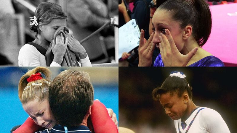 Illustration for article titled Fans Of Watching Teenage Girls Cry Excited For Olympic Gymnastics Finals