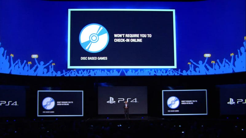 Illustration for article titled PS4 Has No Used Game Restrictions, Is Totally Offline Capable