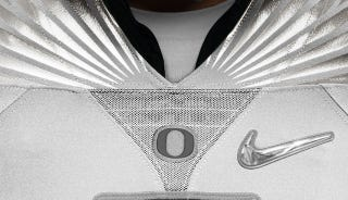 Illustration for article titled Oregon's New Uniforms Are Sewn Together With Lies