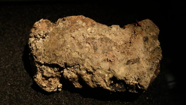 The Museum of London Is Livestreaming a Chunk of Fatberg So You Can Watch It Morph