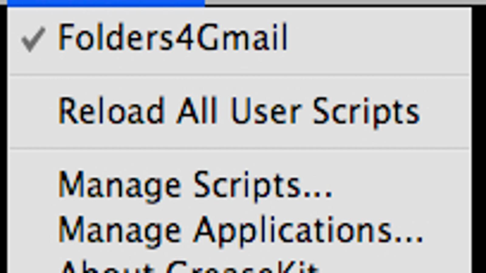 Install Greasemonkey Scripts in Safari with GreaseKit
