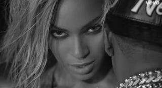 Beyoncé and Jay ZDrunk in Love video screenshot