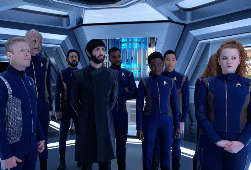 Illustration for article titled Star Trek: Discovery prepares for a finale as Michael makes a choice