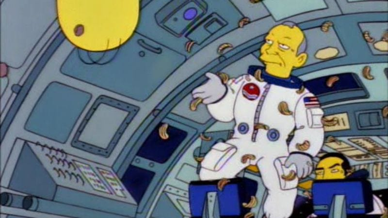 "Illustration for article titled ""Weird Al"" and Buzz Aldrin to be immortalized as Simpsons action figures"