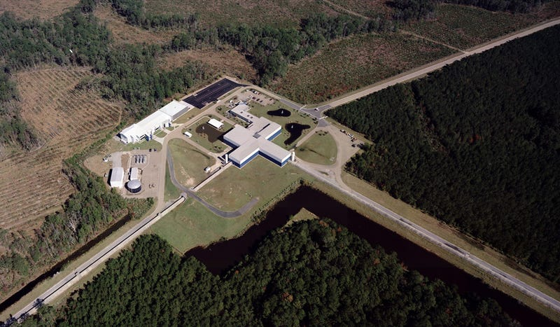 The Advanced LIGO detector located in Livingston, Louisiana. Image: Caltech/MIT/LIGO Lab