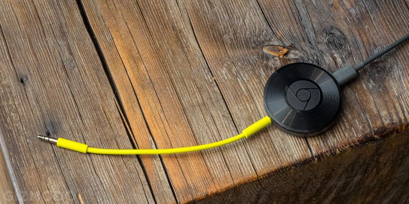 Illustration for article titled Chromecast Audio Is Now the Super Cheap Way to Wirelessly Fill Multiple Rooms With Music