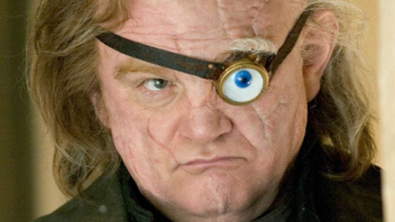 Brendan Gleeson in Harry Potter And The Goblet Of Fire