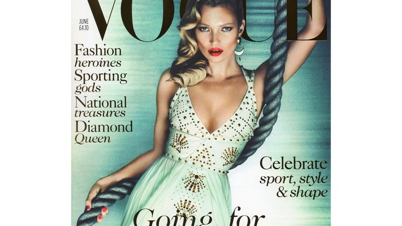 Illustration for article titled Kate Moss Has Been On 32 Covers of Vogue