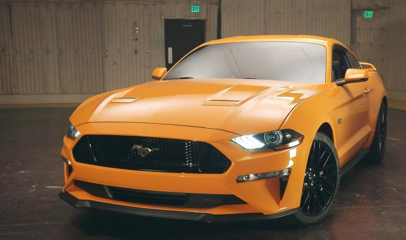 Illustration for article titled Better 2018 Mustang Pics